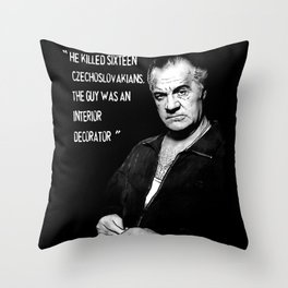 Sopranos - Mr Paulie Walnuts Throw Pillow