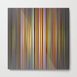 Colourful stripes pattern Metal Print