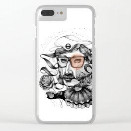 Lover Clear iPhone Case