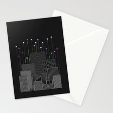City Space To The Stars Stationery Cards