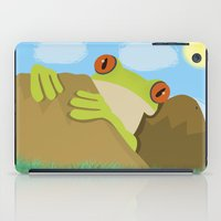 spawn iPad Cases featuring Frog by Nir P