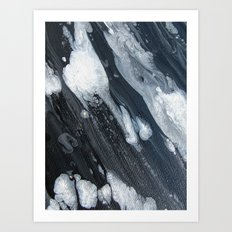 untitled (3189 blck and white) Art Print