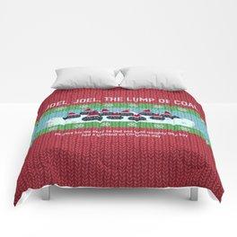 Lump of Coal / Christmas Sweater Comforters