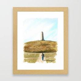 Wright Memorial Framed Art Print