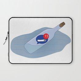 Messenger Bottle Laptop Sleeve
