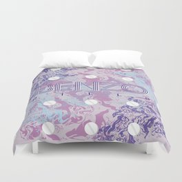 Benzo Pills Duvet Cover