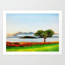 Killarney II Art Print