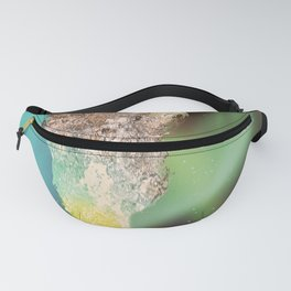 Water art illusion Fanny Pack