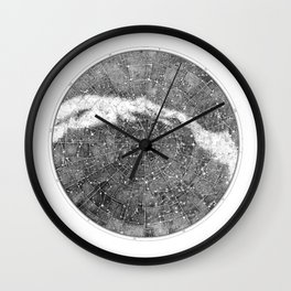 Star Map Wall Clock