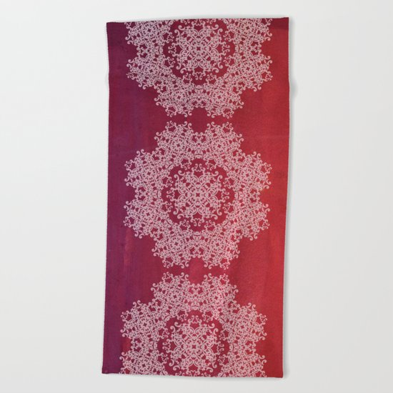 Playing with a lace - dresser from Grandma Beach Towel