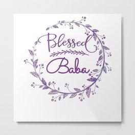 Blessed BABA Cool BABA Metal Print