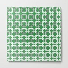 Green plummer Metal Print
