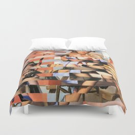 Glitch Pin-Up Redux: Whitney Duvet Cover