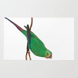 Swift Green Parrot Rug