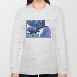 "Fellini ""blue"" Long Sleeve T-shirt"