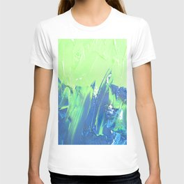 Blue & Green, No. 2 T-shirt