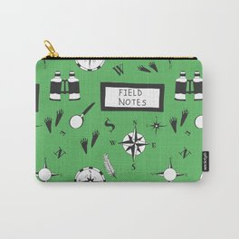 Field Notes Pattern Green Carry-All Pouch