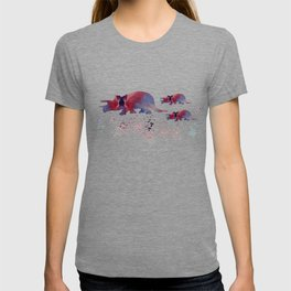 Triceratops (and triceratops babies) T-shirt