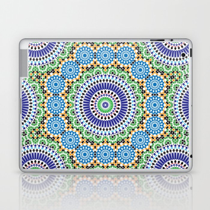 Mosaic Pattern Laptop & iPad Skin