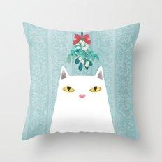 Mistletoe? Throw Pillow
