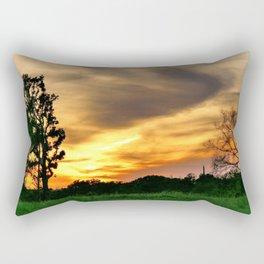 April East Texas Sunset Rectangular Pillow