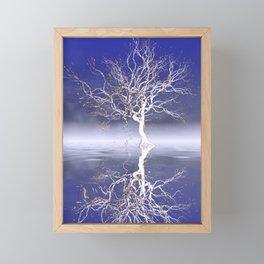 strange light somewhere -15- Framed Mini Art Print