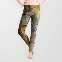 Spring rain Leggings