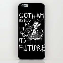 Gotham Needs Me iPhone Skin