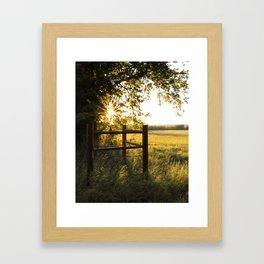 Oklahoma Summer Framed Art Print