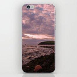 st bees beach sunset iPhone Skin