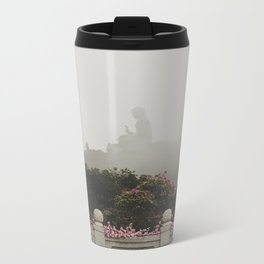 Tian Tan Buddha Metal Travel Mug
