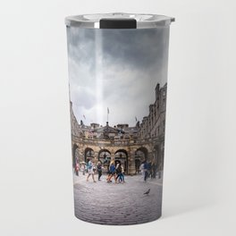 Royal Mile in Edinburgh, Scotland Travel Mug