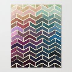 Chevron iKat Canvas Print
