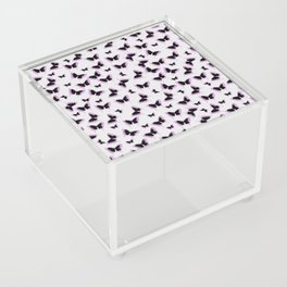 Black and pink butterflies Acrylic Box