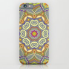 Spring Indian Floral Pattern Slim Case iPhone 6s