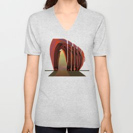 Entrance To The Unknown / Elephant 2 Unisex V-Neck