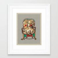 girls Framed Art Prints featuring Girls by R. Gorkem Gul