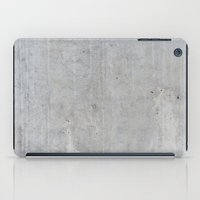 concrete iPad Cases featuring Concrete by Patterns and Textures