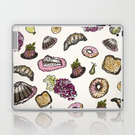 cakes donuts and fruits Laptop & iPad Skin
