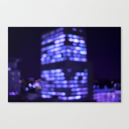 Get lost in the light. Canvas Print