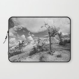 Deserted BW Laptop Sleeve