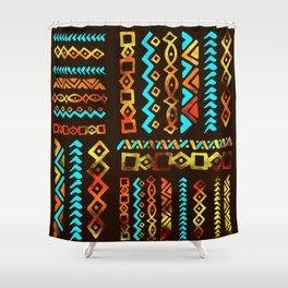 Bold Ethnic pattern n.5 Shower Curtain