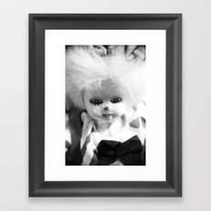 Dolls in Grandma's attic, Photo Framed Art Print