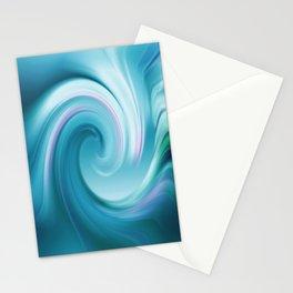 Blue wave 209 Stationery Cards
