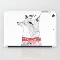 mr fox iPad Cases featuring Mr. Fox by missmalagata