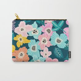 Colourful bib flowers Carry-All Pouch