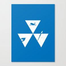 3 Elements Canvas Print