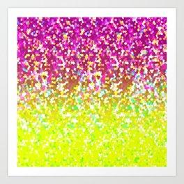 Glitter Graphic G224 Art Print