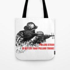 Violin Sniper Tote Bag