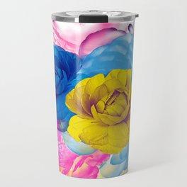 Floral Abstract 86 Travel Mug